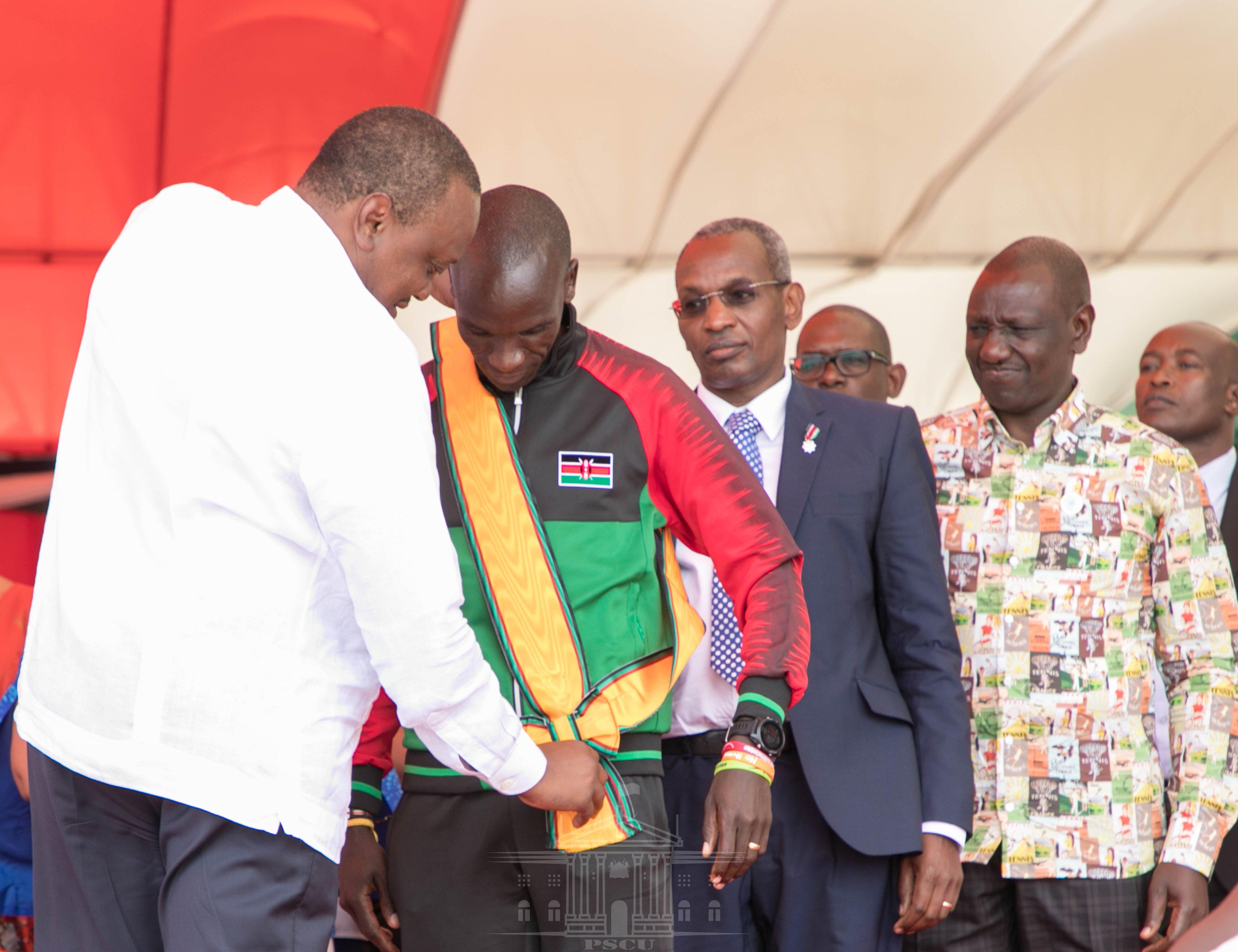Uhuru Award Kipchoge