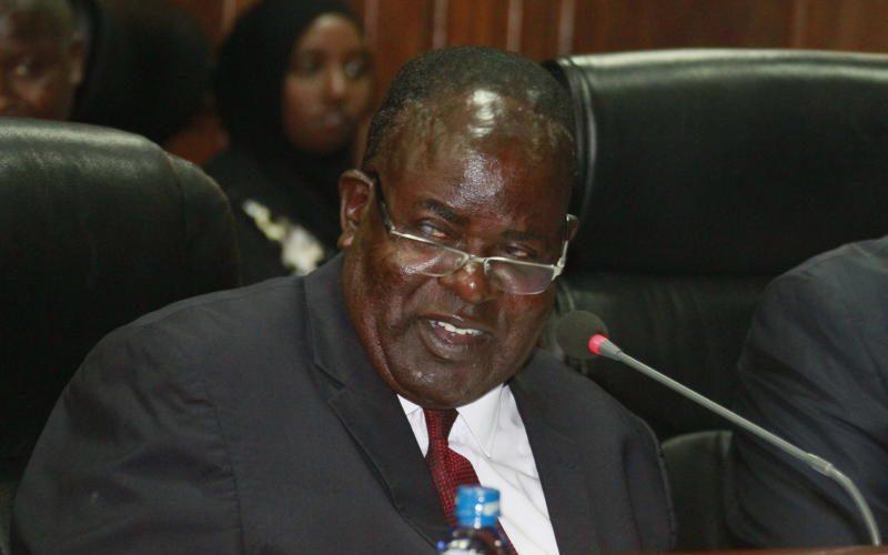 Homa Bay Governor Cyprian Awiti