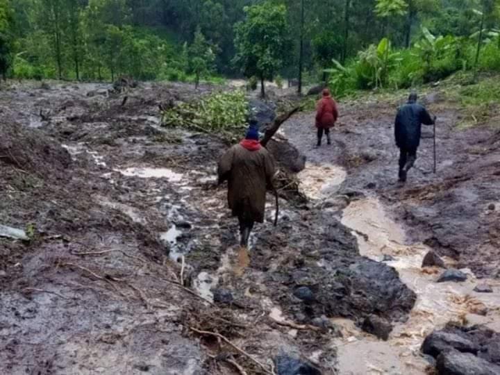 Landslides in West Pokot