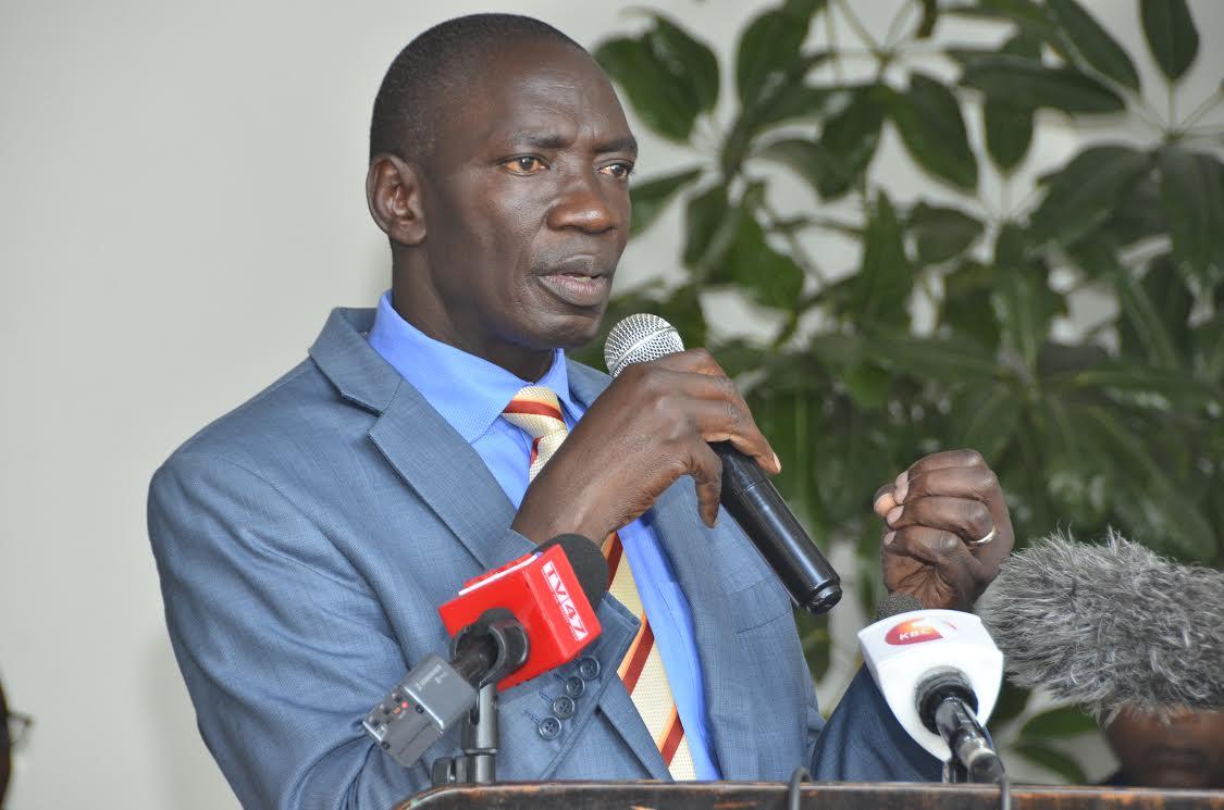 Government spokesperson Col (Rtd) Cyrus Oguna