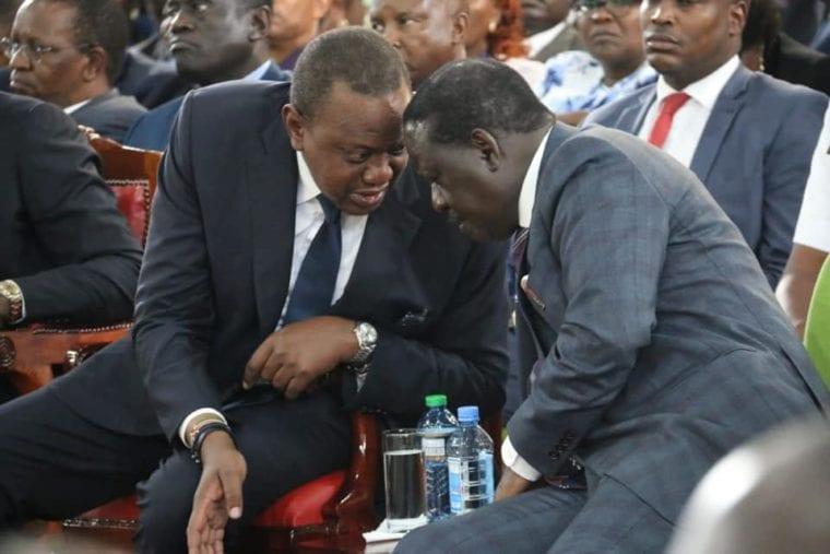 Law experts now speak over Uhuru, Raila 'impending' unity government