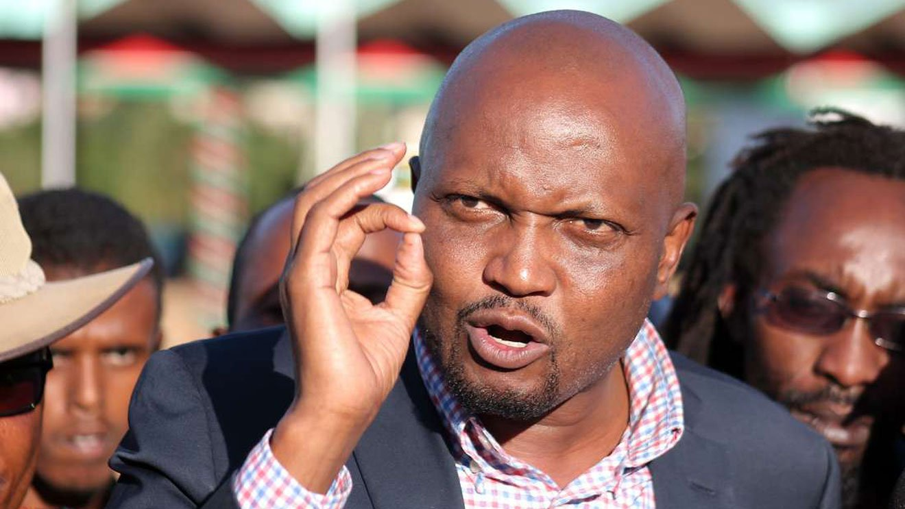 Gatundu South Member of Parliarment Moses Kuria has broken his silence after President Uhuru Kenyatta promised to support one of NASA's princiapls in the 2022 presidential polls.