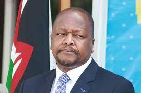 Cabinet Secretary for Health in the Republic of Kenya Mutahi Kagwe